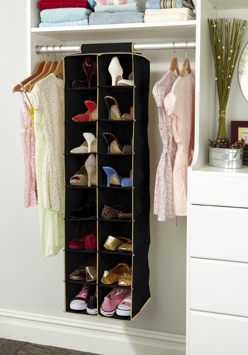 Superieur Cool And Smart Shoe Organizer Design Ideas : Fabulous Kennedy SixteenShelf Hanging  Shoe Organizer Inspiration For