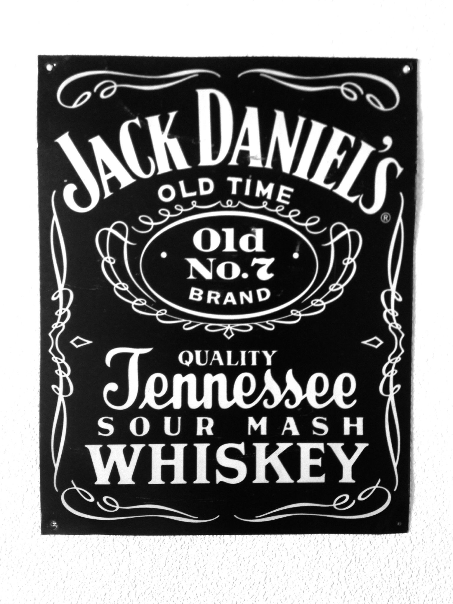 Jack Daniel\'s old times Old No.7 BRAND QUALITY Tennessee SOUR MASH ...