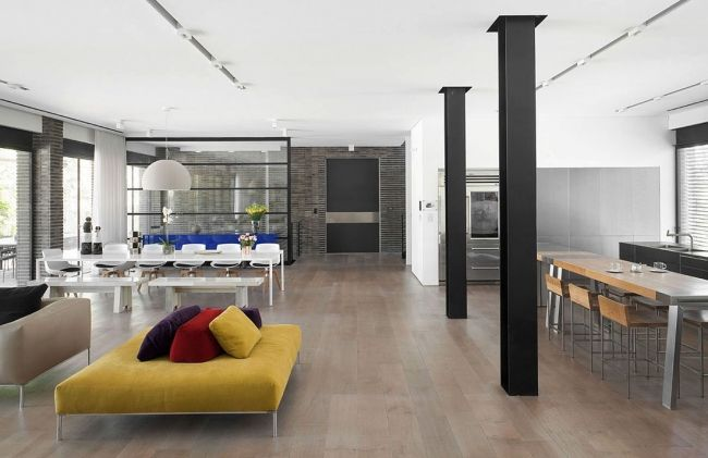 Décoration d\'intérieur d\'une maison contemporaine