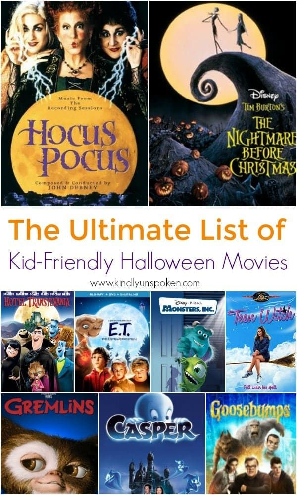 The Best Halloween Movies for Kids and Families Kid