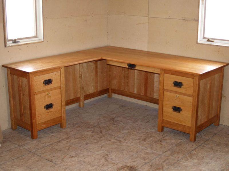 Custom Corner Desk