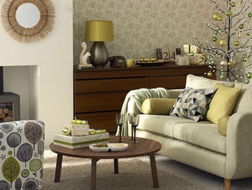 Decorating With Olive Green 30 Ideas For Fall And Beyond Https Freshome Com Inspi In 2020 Yellow Decor Living Room Living Room Green Green Accessories Living Room #olive #green #and #grey #living #room