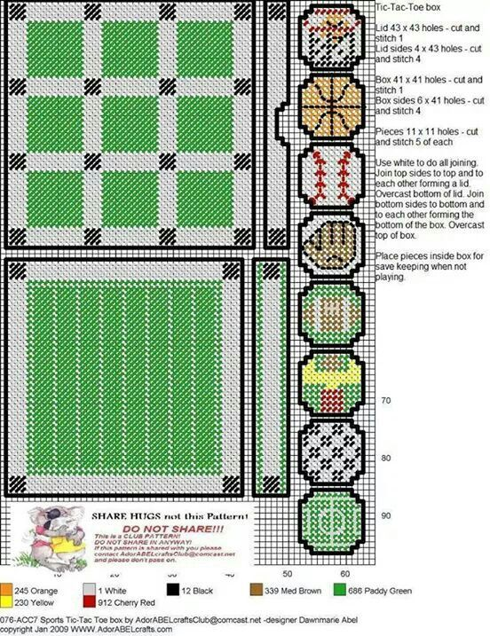 Pin on plastic canvas patterns I have