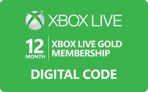 The Xbox Live 12 Month Gold Membership Review | Xbox Game