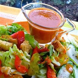 If you like French or Catalina dressng, you'll like Sweet and Sour Salad Dressing.   Allrecipes.com