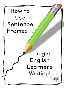 Using Sentence Frames to Get ELL Students Writing   ESL Blogs   Ell