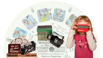 PHOTO: View Master montage. Courtesy of the National Toy Hall of Fame.