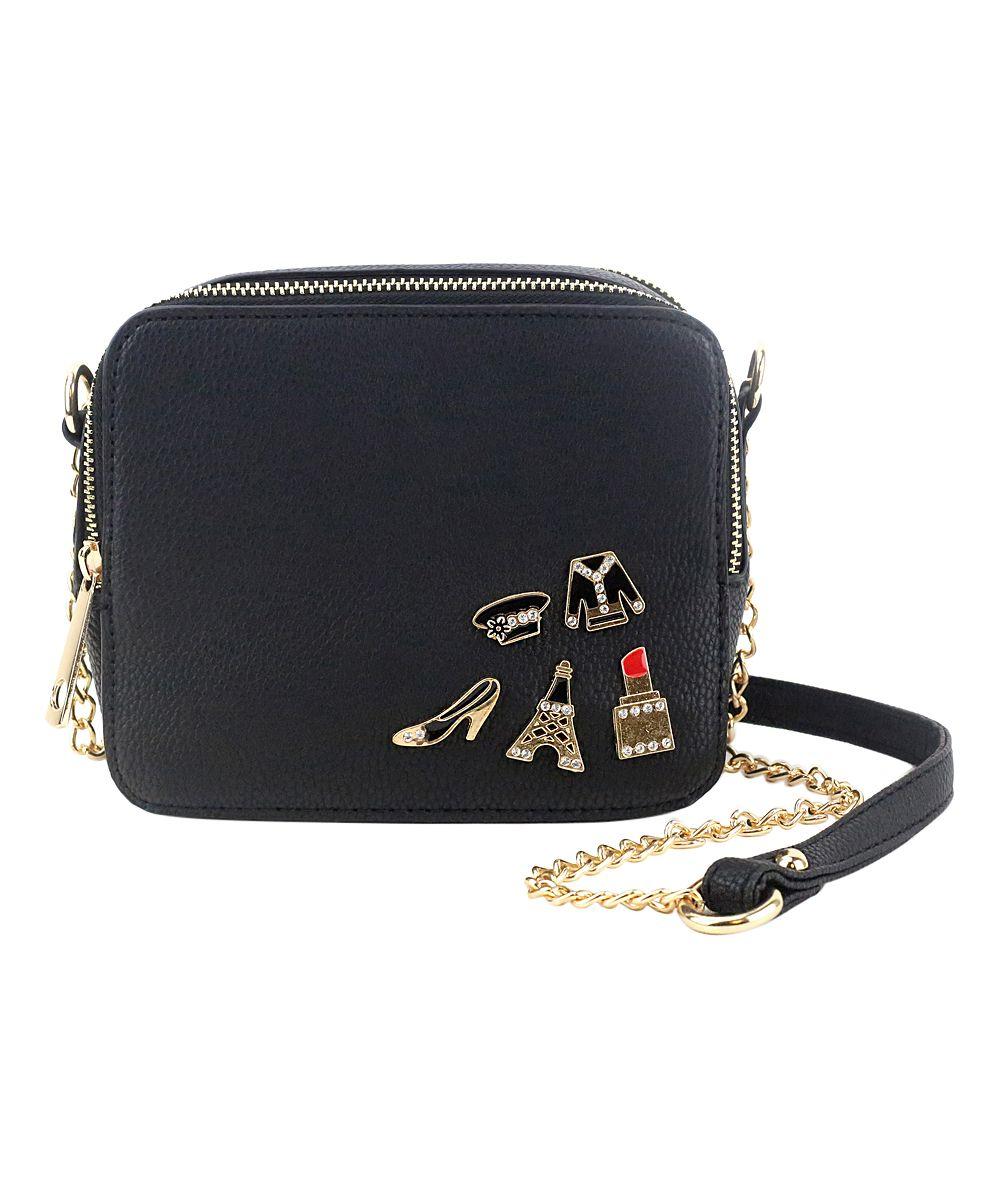 Black Brexley Crossbody Bag