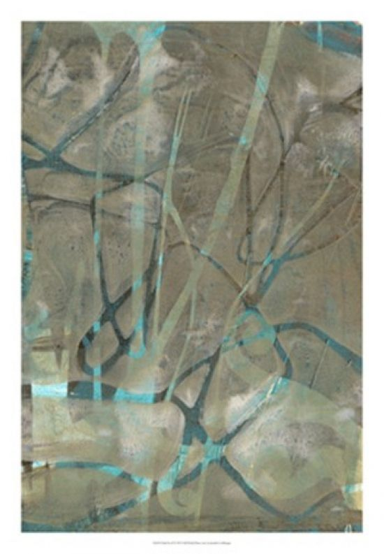 Fluid Sea II Poster Print by Jennifer Goldberger (18 x 26) - Item # OW221603Z - Posterazzi