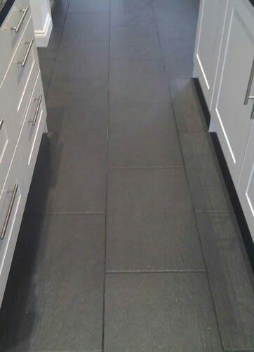 Dark Grout Floor Tiles Grey Kitchen Tiles Grey Kitchen Floor Flooring