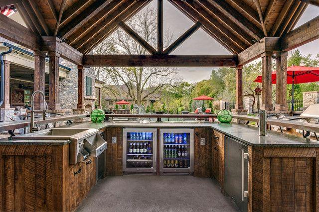 undercounter kegerator patio with beverage dispenser glass door refrigerator indoor outdoor on outdoor kitchen kegerator id=91290