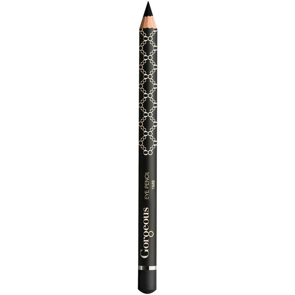 Gorgeous Cosmetics Black Jack Eyeliner Pencil ($15) ❤ liked on Polyvore featuring beauty products, makeup, eye makeup, eyeliner, pencil eyeliner, gorgeous cosmetics, pencil eye liner and eye pencil makeup