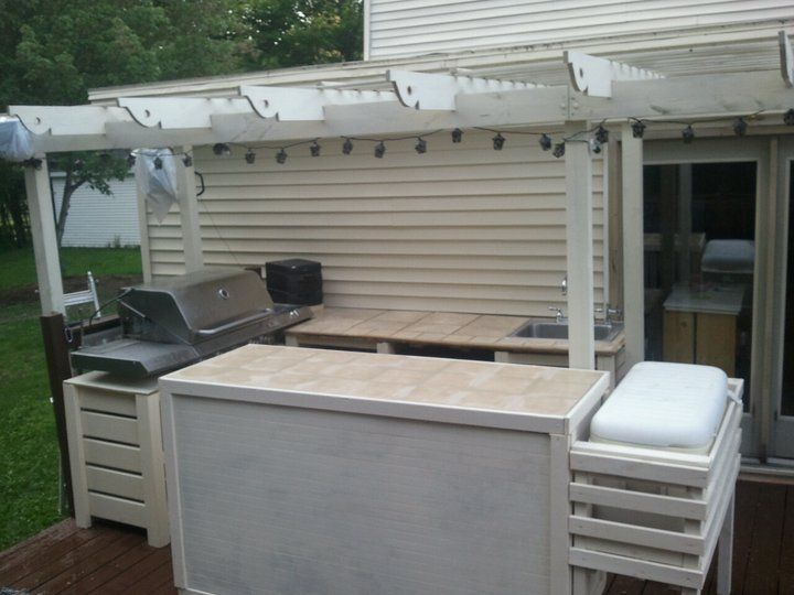 Wonderful New Outdoor Kitchen! | Do It Yourself Home Projects From Ana White