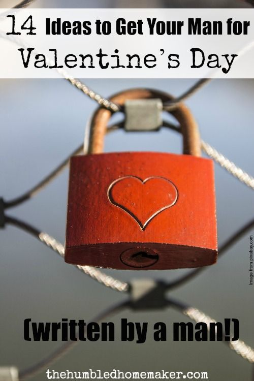 men can be hard to buy for! here's a great list of 14 valentine's, Ideas