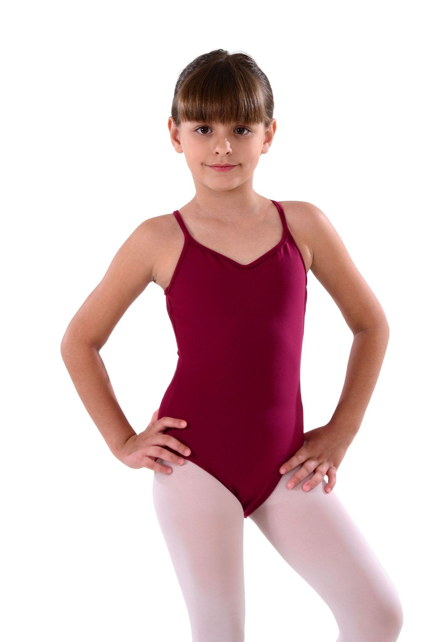 ziegler nude leotard Children's Camisole Leotard - On 1 Dancewear