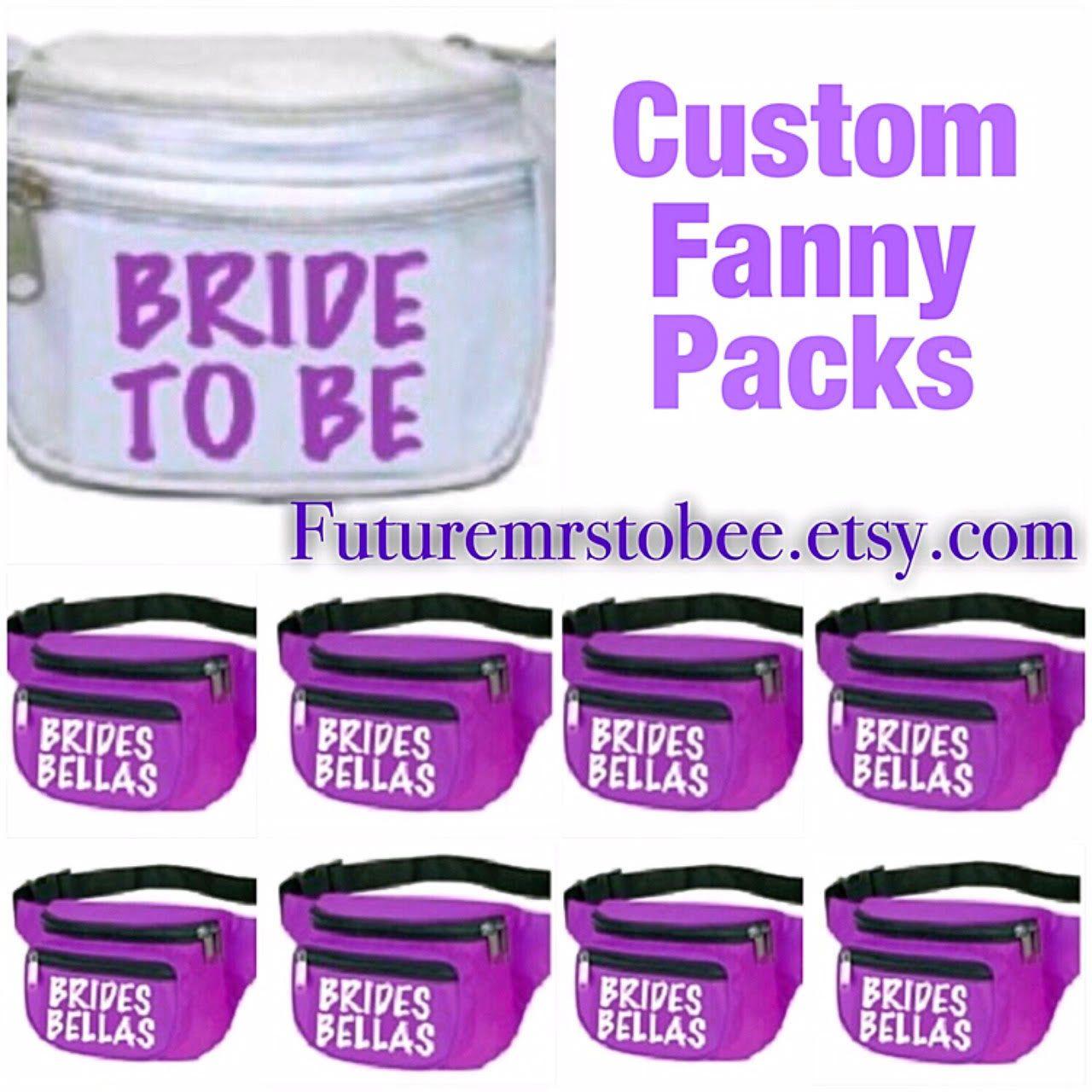 9d1e16b82844 Bride to be Fanny Pack,Brides Bellas, Fanny Packs, Bachelorette ...