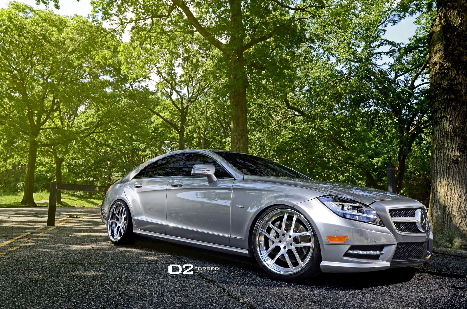 Mercedes Benz Cls550 20 D2forged Fms08 Wheels 2008 Cls 550 Wide Kit 2090