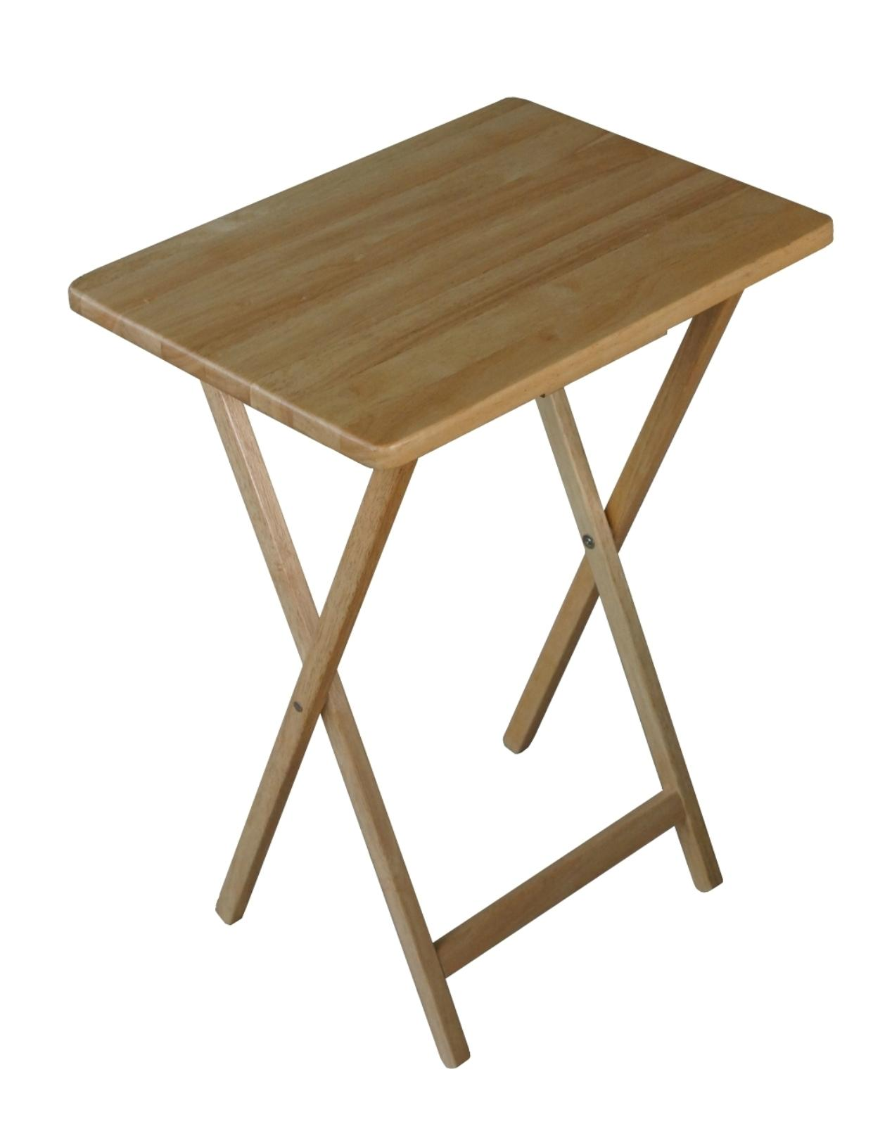 Sears In 2020 Wooden Tv Trays Walnut Furniture Living Room Tray Table