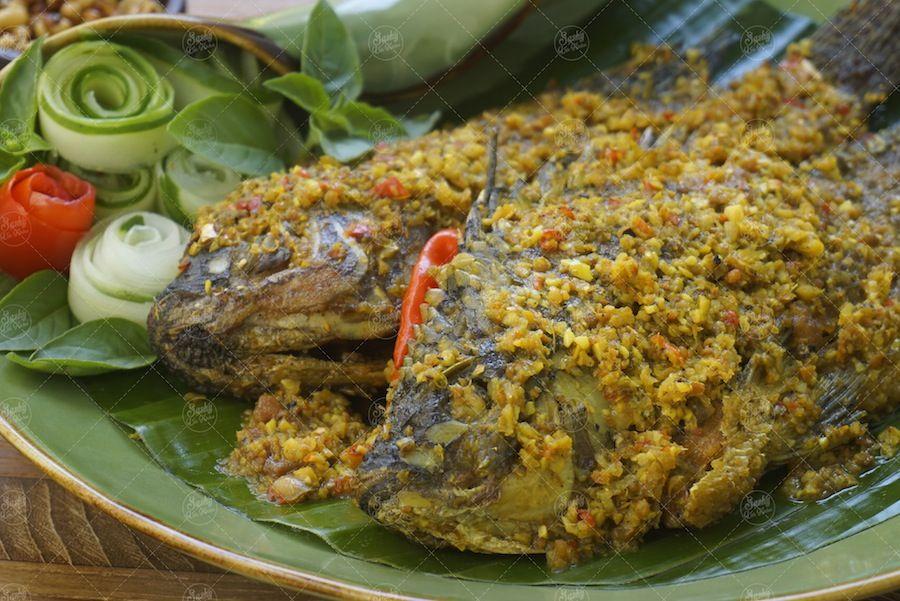 Mujair Menyatnyat Khas Kintamani Bali Resep Masakan Indonesia Makanan Masakan