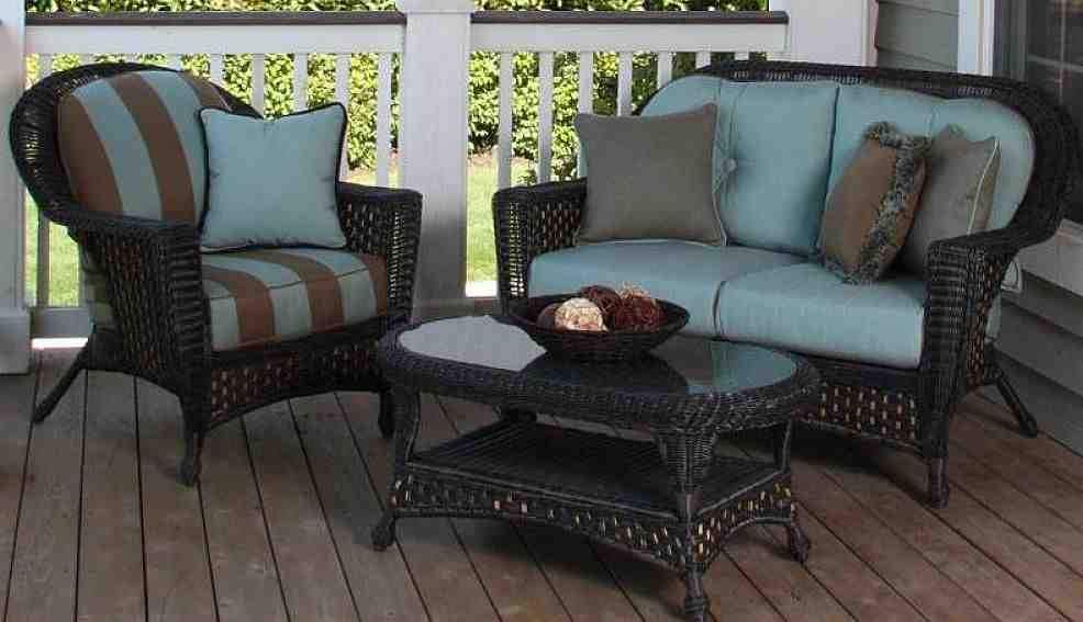 Outdoor Wicker Furniture Cushions Sets | Outdoor Wicker ...