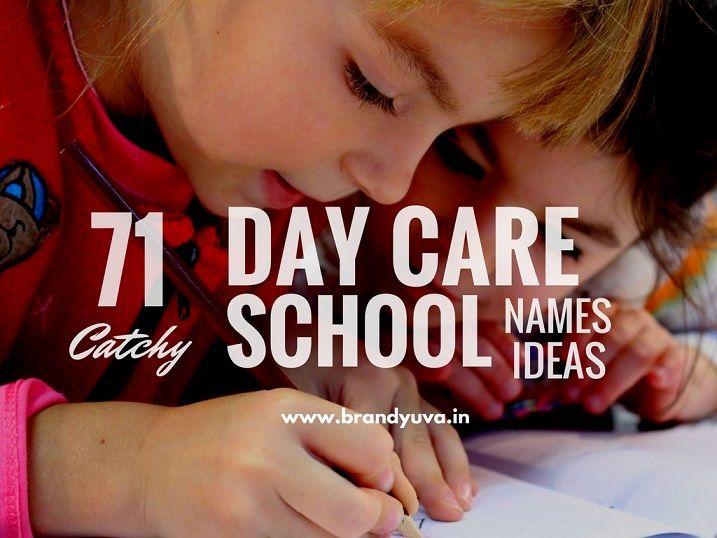 71 best daycare  creche  school brand names ideas