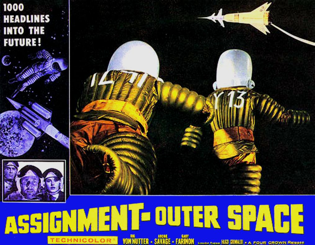 Assignment: Outer Space (1960) Space Men | Sci fi movies ...