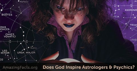 24 - Is God behind the predictions that psychics make? Don't be misled....
