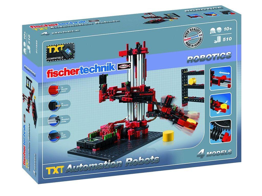 Fischertechnik Robo Tx Automation Robots Building Kit