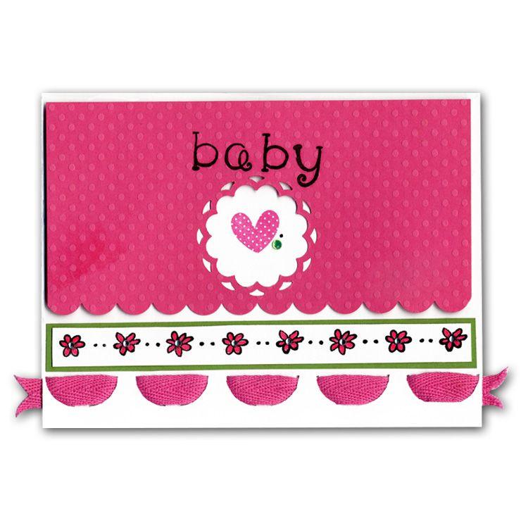 Baby Love Doodle Stamper Card