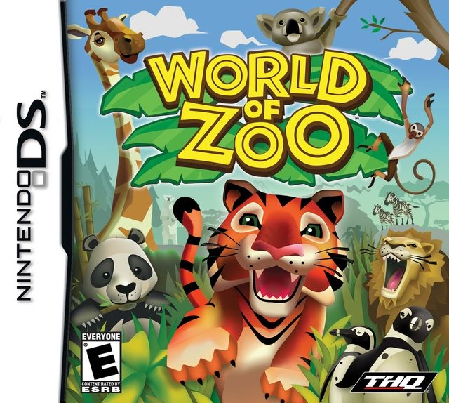 World Of Zoo Ds Game With Images Wii Games