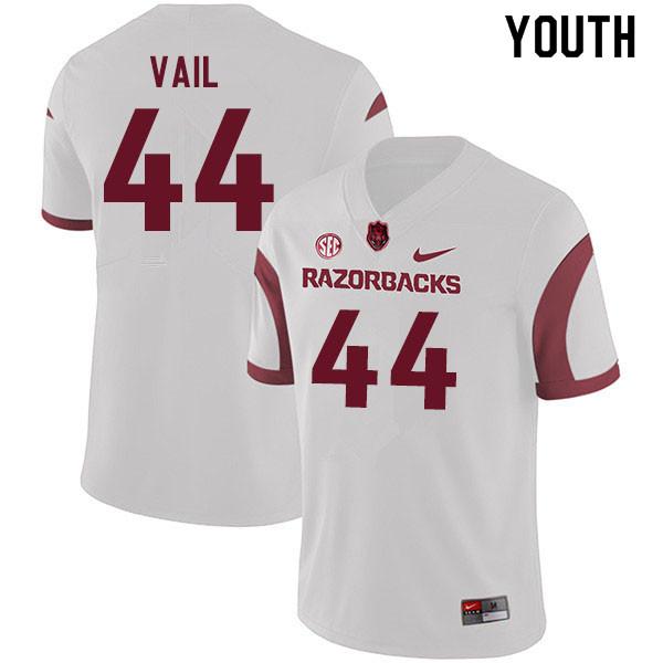 differently 12661 73c3c Youth #44 Cameron Vail Arkansas Razorbacks College Football ...