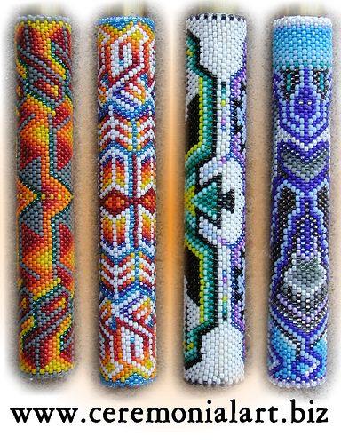 Patrick Scott 2 Peyote Stitch Patterns Beadwork Designs