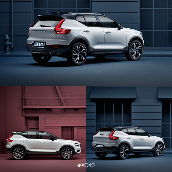 The New Volvo XC40. Everything You Need. Nothing You Don't