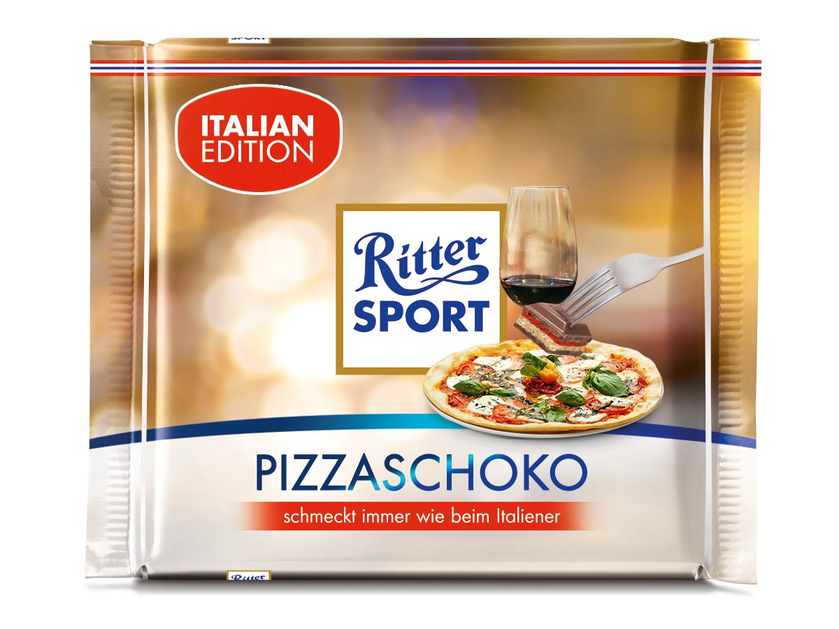 Ritter Sport Pizza