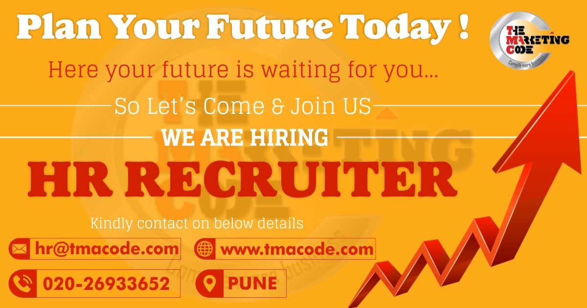 Hello Candidates Hiring For Hr Recruiter For More Information Call On 020 26933652 Share Your Cv At Hr Tmacode Com Walk Job Opening Job Hunting Find A Job