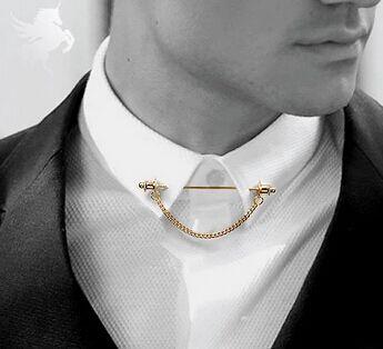 Hot 2016 Fashion Shirt Collar Bar Mens Collar Pin With