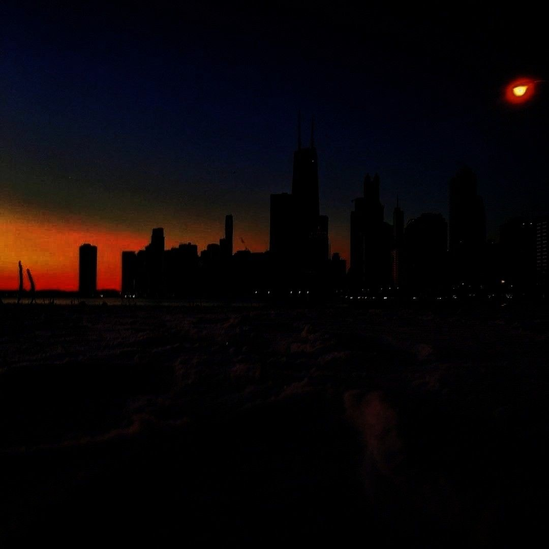 took my first steps into the new year at North Beach, the apex of in CHICAGO. I had high hopes for