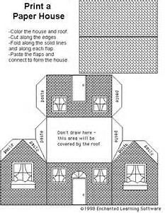 Risultato immagine per Free Pattern Cardboard Christmas Houses ...