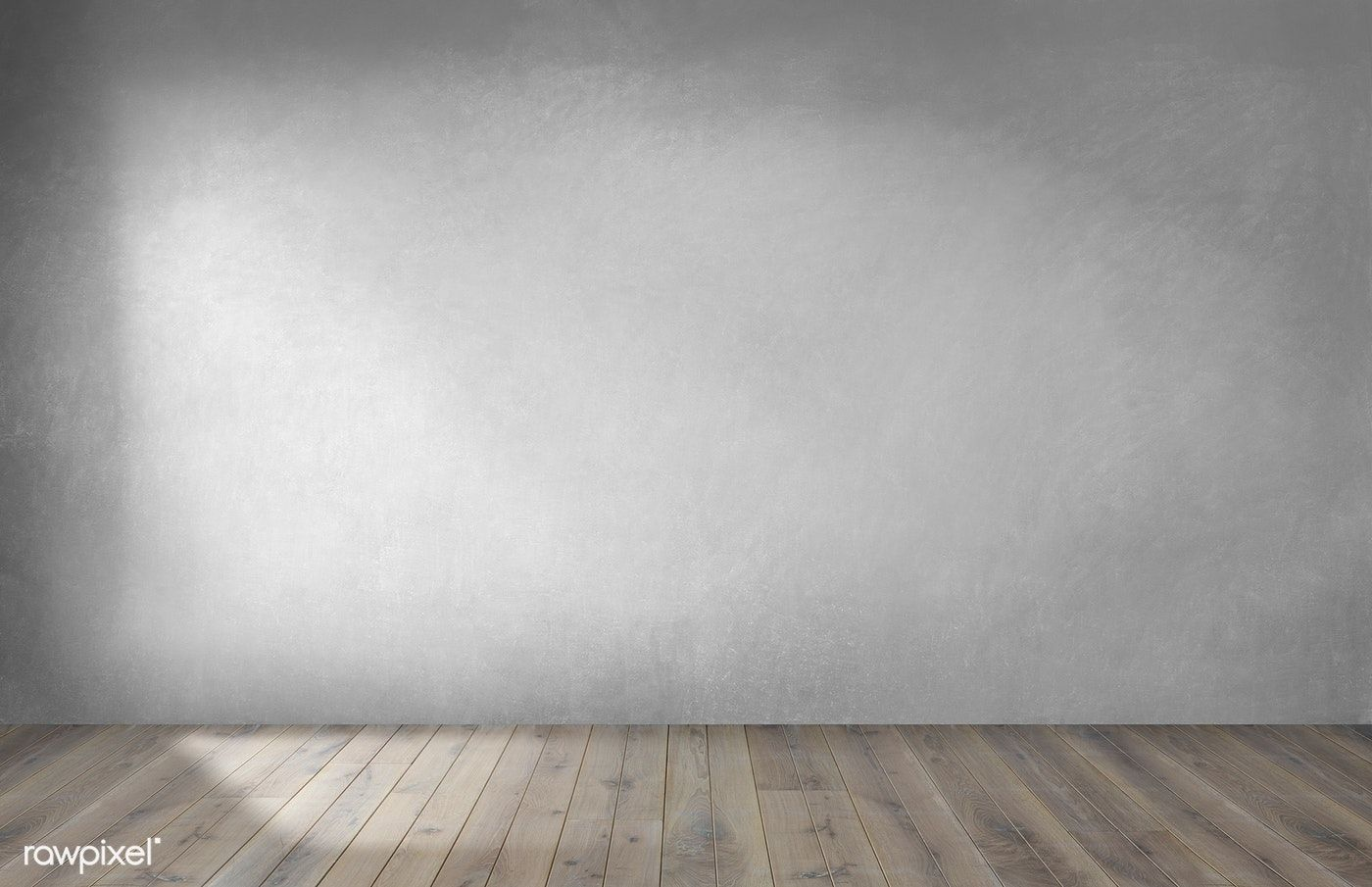Download premium photo of Gray wall in an empty room with