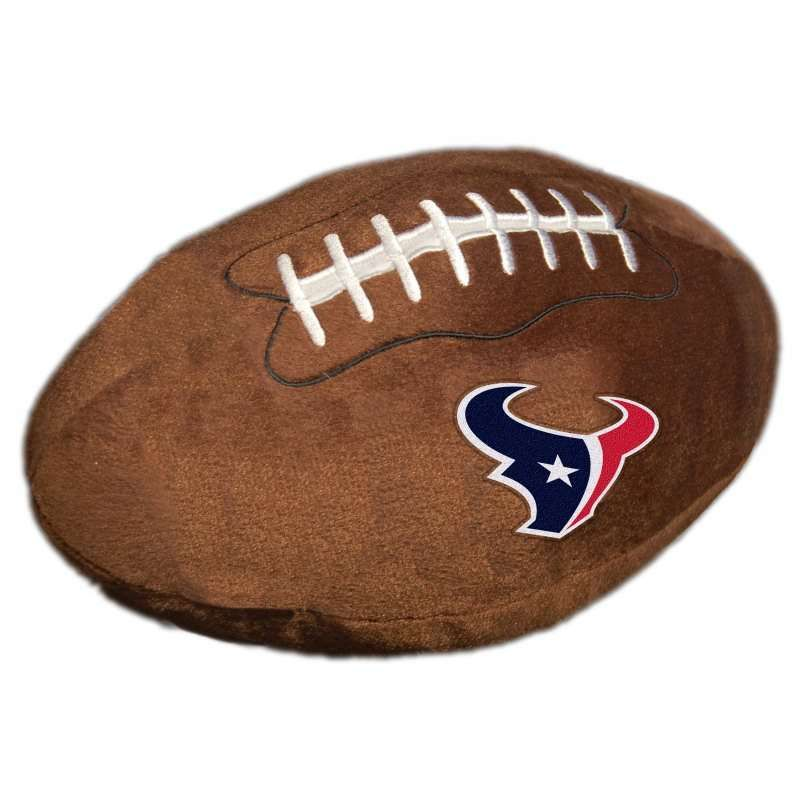 Houston Texans NFL Football Pillow by The Northwest - NFL Football Pillow $21.95