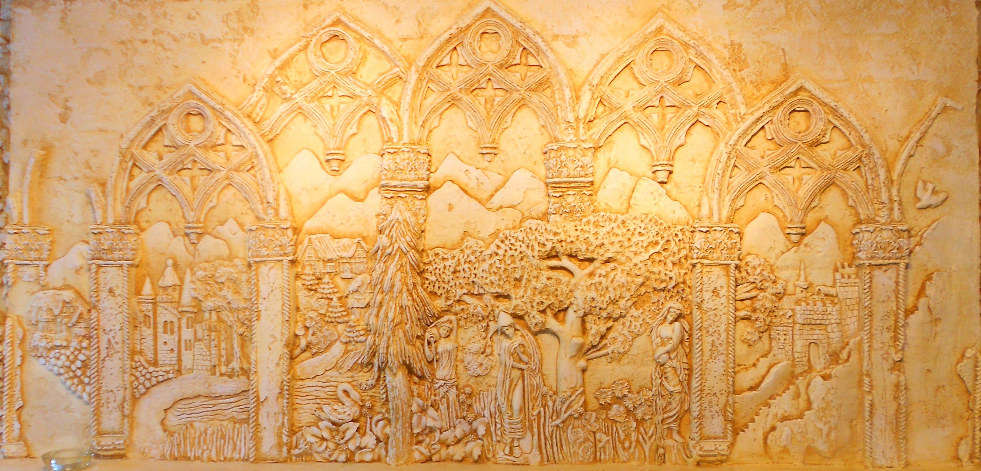Sculpted plaster relief by Ellie Ellis,CMS. Bas relief, High Relief ...