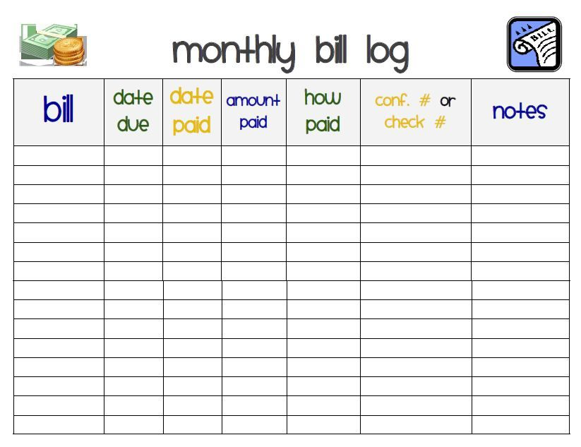 MonthlyBillPicJpg   Household CleaningOrganizing