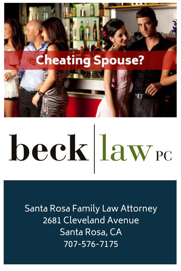Divorce when spouse cheats