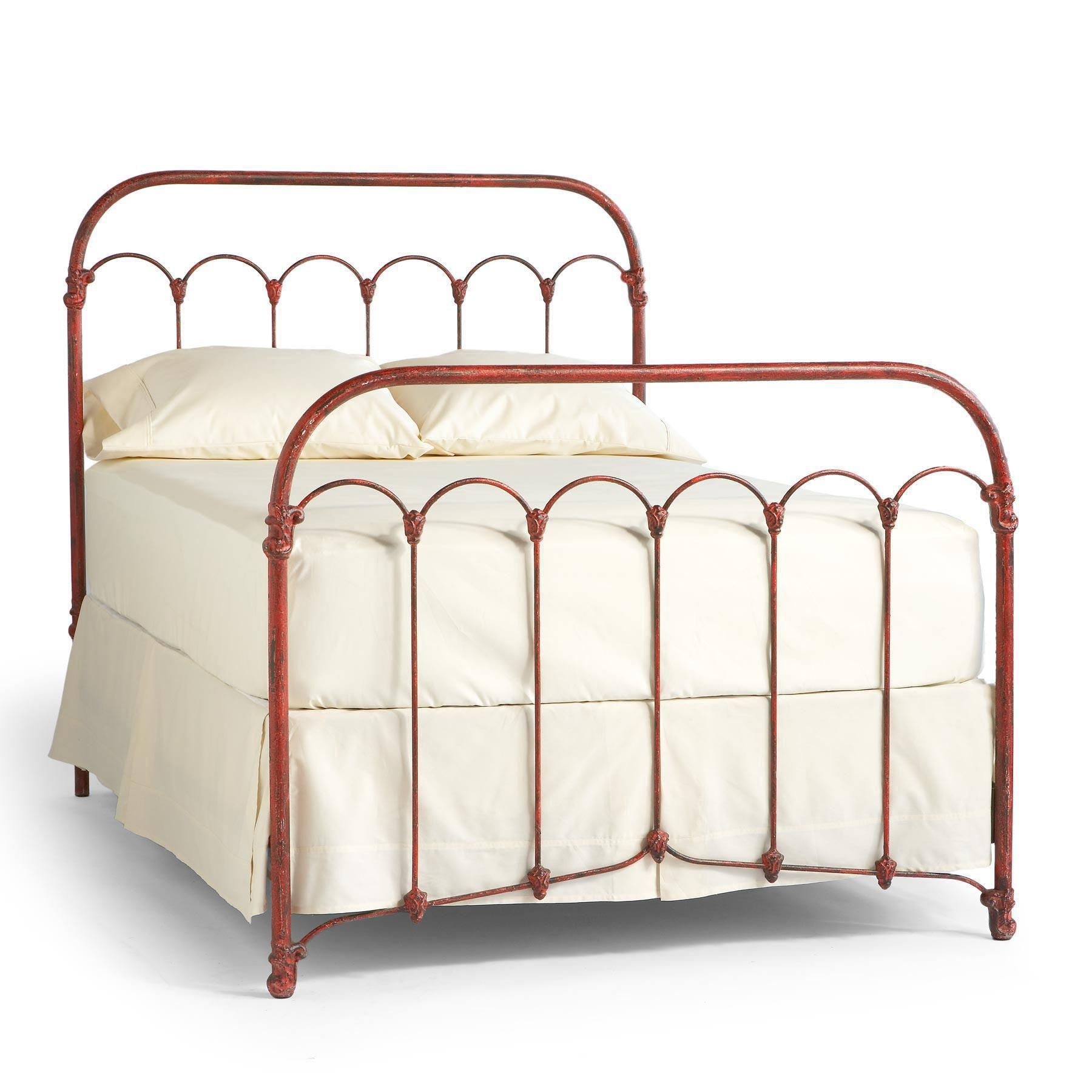 Bethany Iron Bed  Inspired By An Early Iron Bedstead,