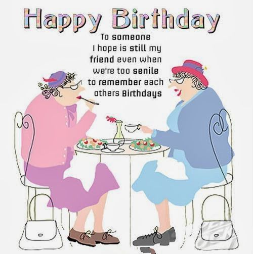 Happy birthday images for female friend funny