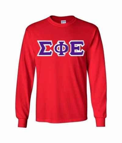 8d0d083086f  20 Sigma Phi Epsilon Custom Twill Long Sleeve T-Shirt SALE  20.00. - Greek  Clothing and Merchandise - Greek Gear®