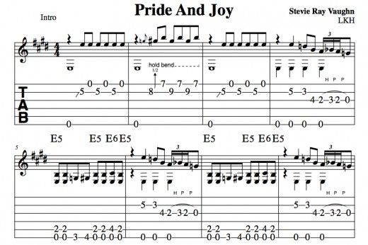 Blues Guitar Fingerpicking • In The Style Of Pride And Joy