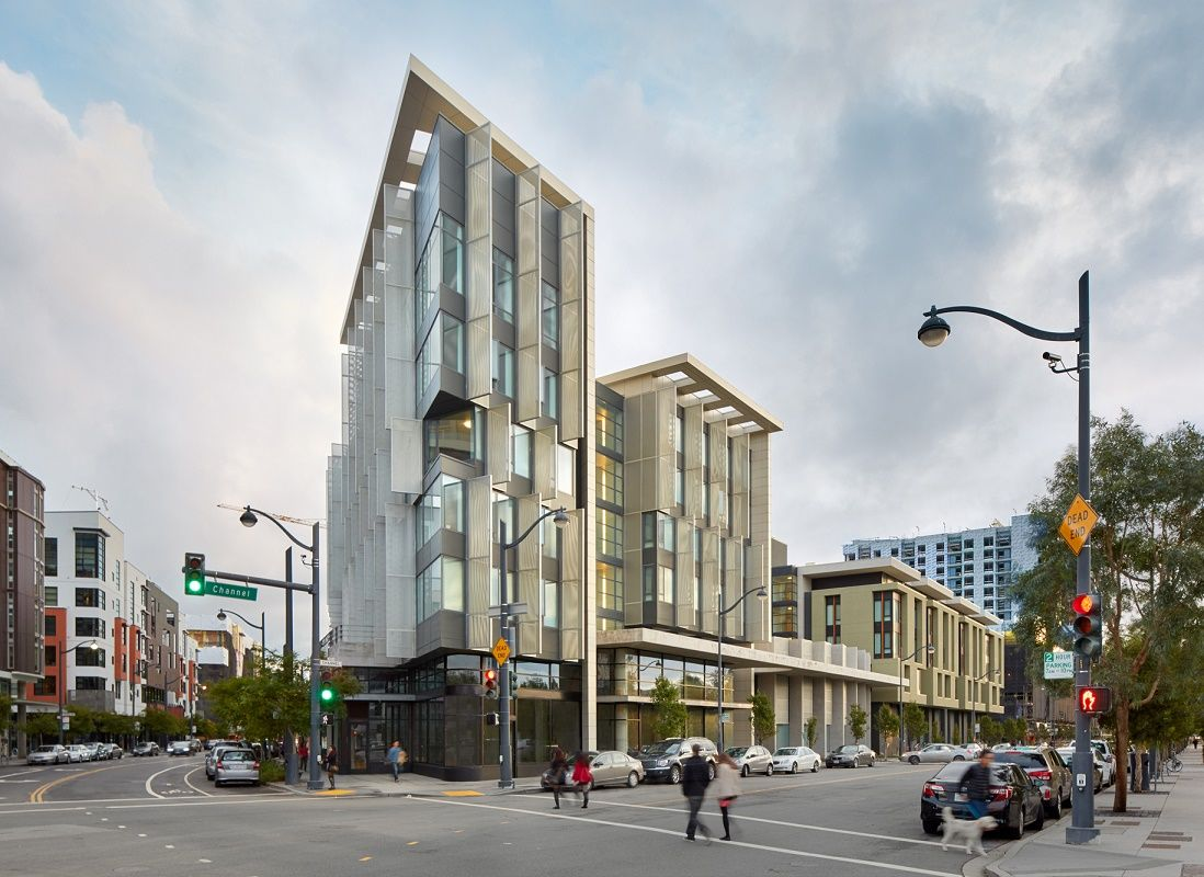 Mercy Housing Completes 1180 Fourth Street Affordable Housing Designed By Mithun Solomon And Kennerly A Affordable House Design Affordable Housing Architecture