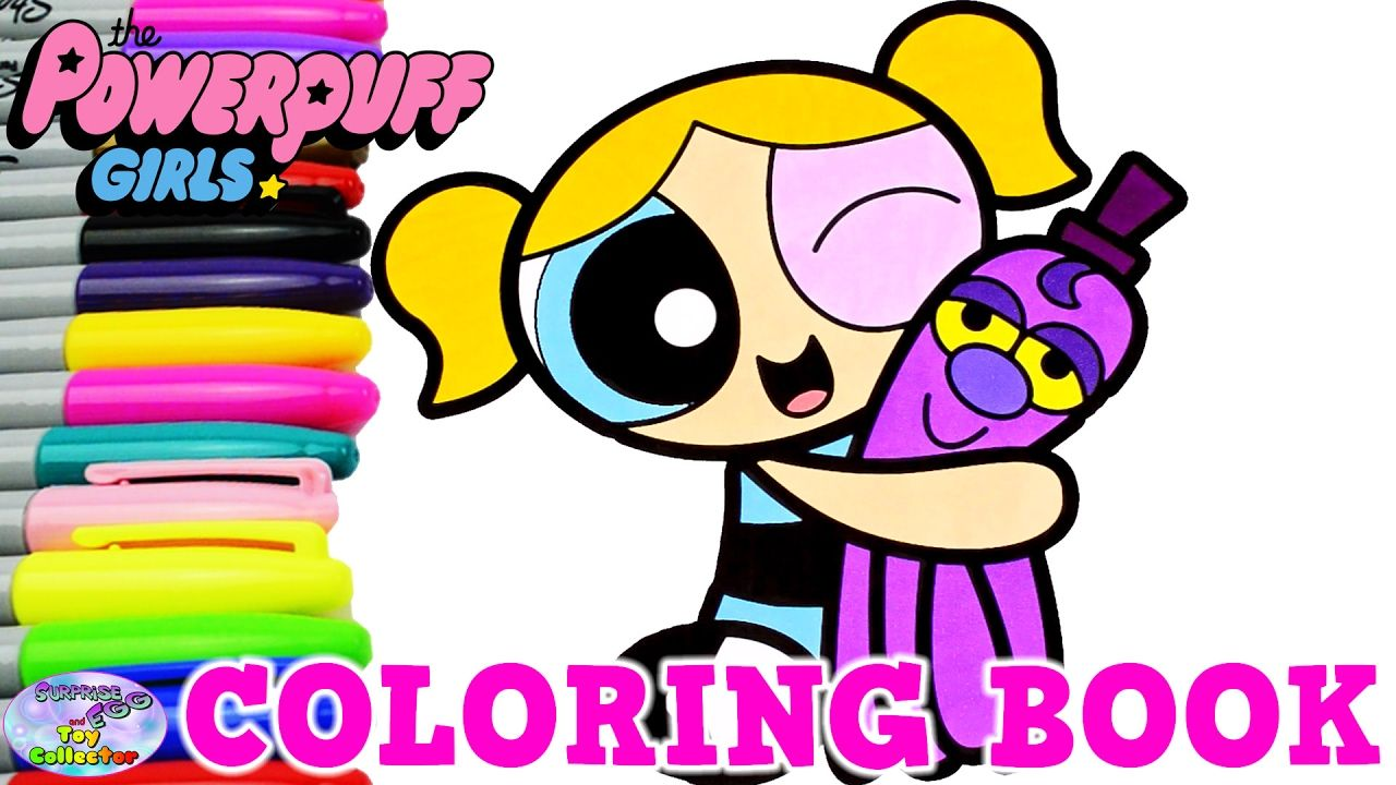 powerpuff girls coloring book bubbles ppg powerpuff girls z surprise