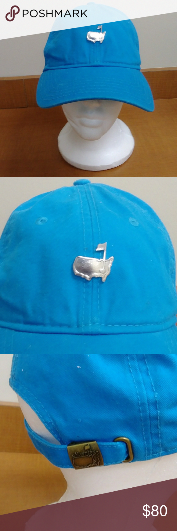 a07ecf9d954 Rare Masters American Needle Golf Tournament Hat Rare American Needle  Masters Golf tournament hat Blue in